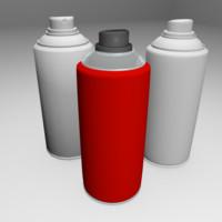 aerosol spray obj free