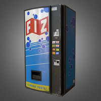 Soda Vending Machine - PBR Game Ready
