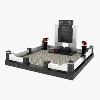 3d model tomb 9