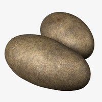 potatoes 3d 3ds