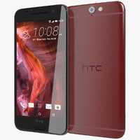 3d model realistic htc a9 deep