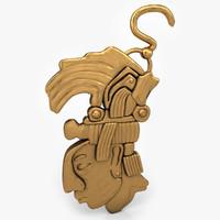 aztec gold 3d model