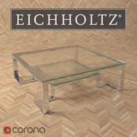 eichholtz table coffee huntington 3d max