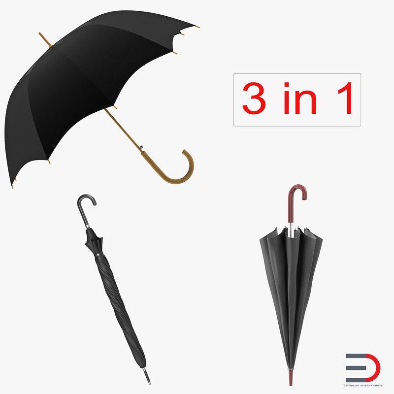 3d models of Umbrellas Collection 00.jpg
