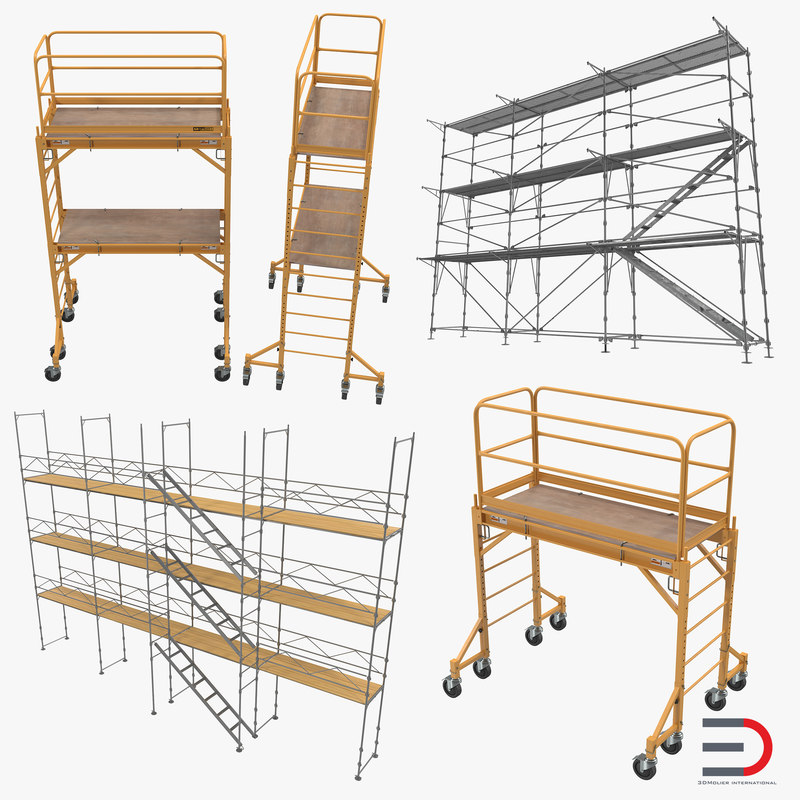 Scaffolding Collection 3d models 000.jpg
