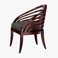 chair rib 3ds