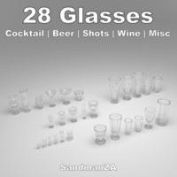 3d glass hurricane brandy