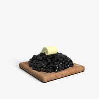 Cracker with Caviar Black