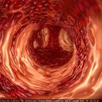 Human arteria