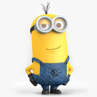 minion despicable 3d c4d