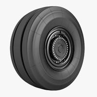 3d max trepel challenger wheel