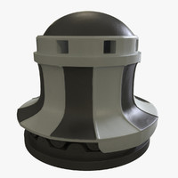 capstan ships anchor 3d model