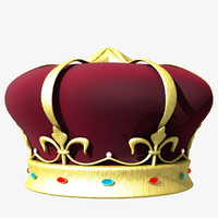 3d model crown lightwave
