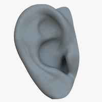 ear character 3d ma