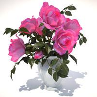3ds roses bouquet