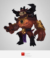 Low Poly Demon Lord