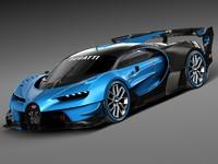 2015 bugatti concept c4d