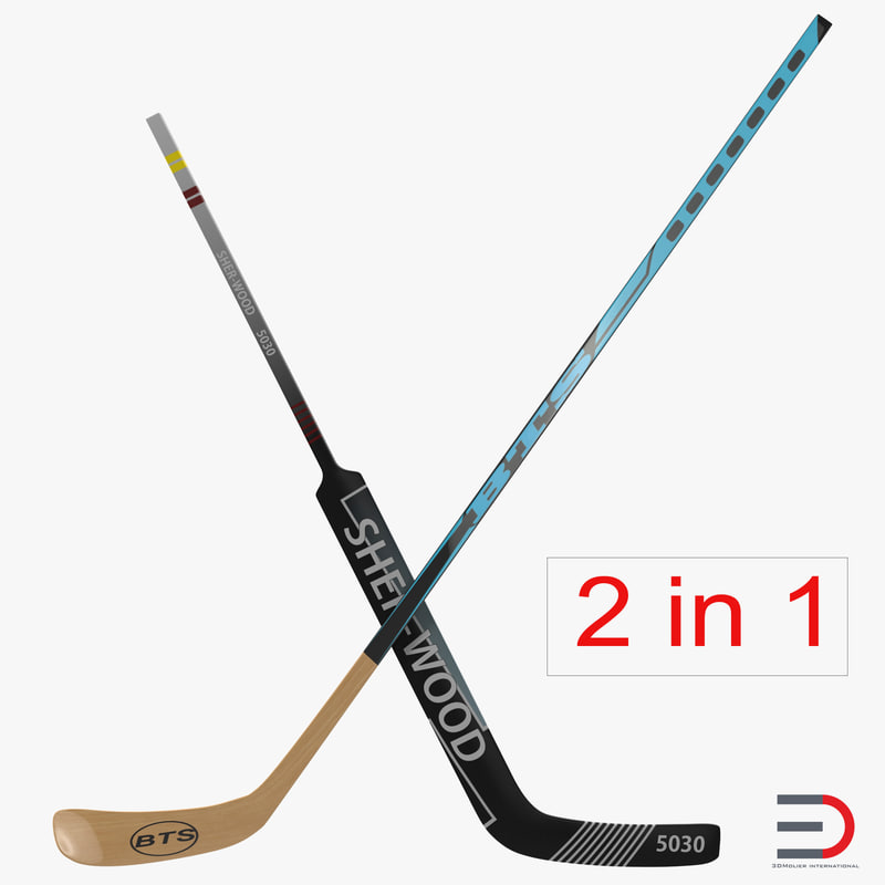 Hockey Sticks Collection 3d models 00.jpg