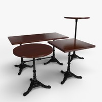 table bar 3d max