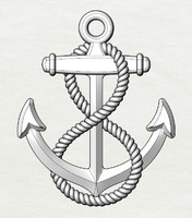 anchor rope obj