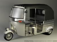 3d model indian autorickshaw
