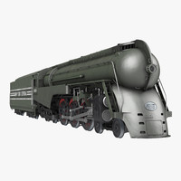 3d nyc dreyfuss hudson steam train