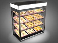 3ds max bakery display case