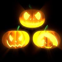 halloween pumpkin 3d c4d