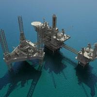 3dsmax oil platform