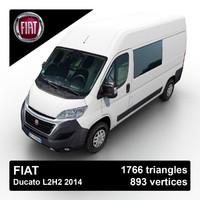 fiat ducato 2015 3d model