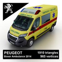2015 peugeot boxer ambulance max