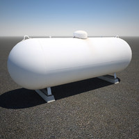 large propane tank 3d 3ds