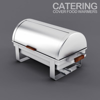 3d model catering food warmers