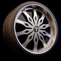 rim wheel dub famous 3d model