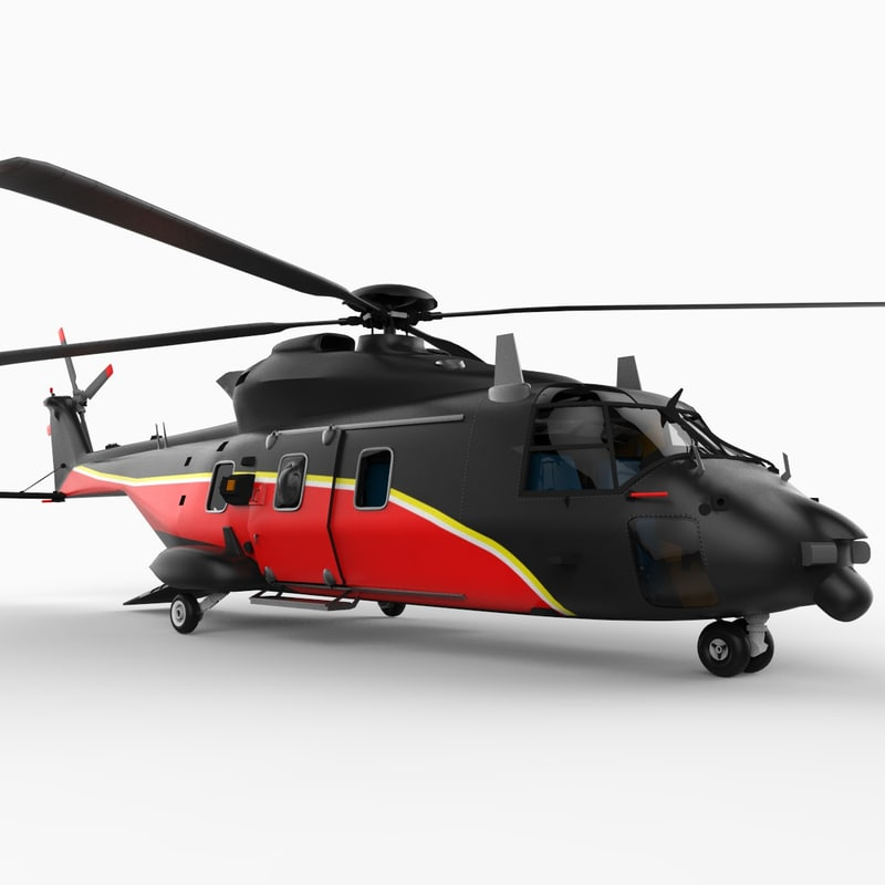 Elicottero Nh90 : Nhi nh helicopter d model