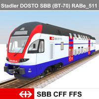 Stadler DOSTO SBB (BT-70) RABe_511