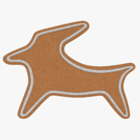 3ds max gingerbread cookie
