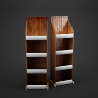 store shelves 3d c4d