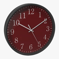 max office clock 2 red