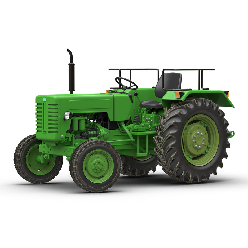 Generic Tractor Rigged 3d model 01.jpg