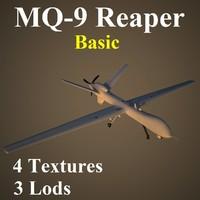 reaper basic 3d model