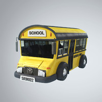 Stylized School Bus