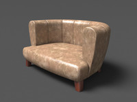 3dsmax bengawan sitter sofa design