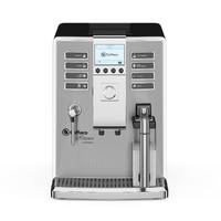 3d model black espresso coffee machine