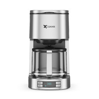 brushed metal drip coffee machine max