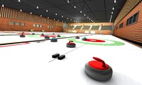 3d model curling stadium club