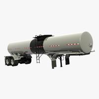 trailer etnyre tank 3d model