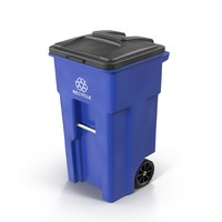 recycle bin 3d fbx