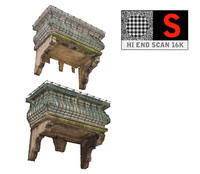 3d model balcony scan 16 k