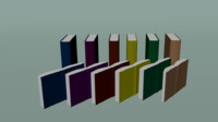 Low Poly Style - Book Selection